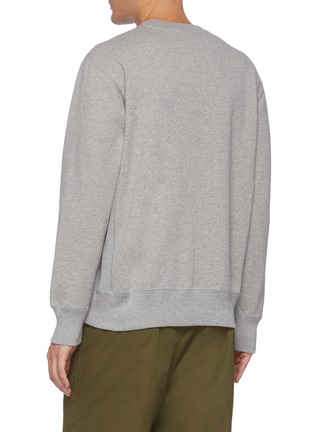 Back View - Click To Enlarge - COMME DES GARÇONS HOMME - CDGH logo print sweatshirt