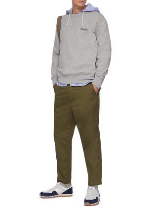Figure View - Click To Enlarge - COMME DES GARÇONS HOMME - CDGH logo print sweatshirt