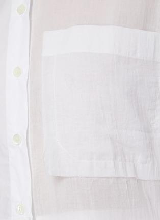 - JW ANDERSON - Flare hem panel cotton shirt