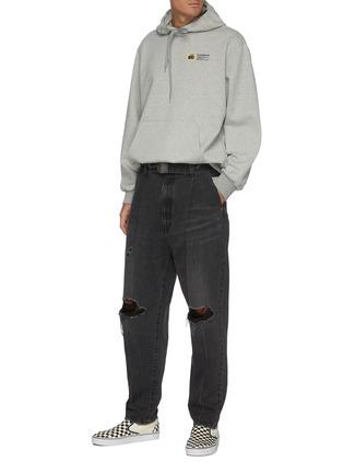 Figure View - Click To Enlarge - DOUBLET - Memorial polaroid back hoodie