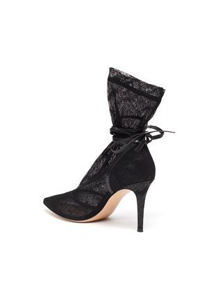 - GIANVITO ROSSI - Rochelle' strappy lace boots