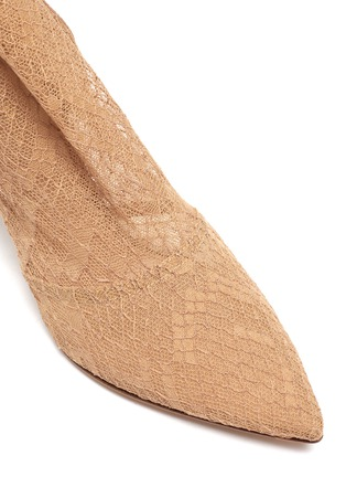 Detail View - Click To Enlarge - GIANVITO ROSSI - Rochelle' strappy lace boots