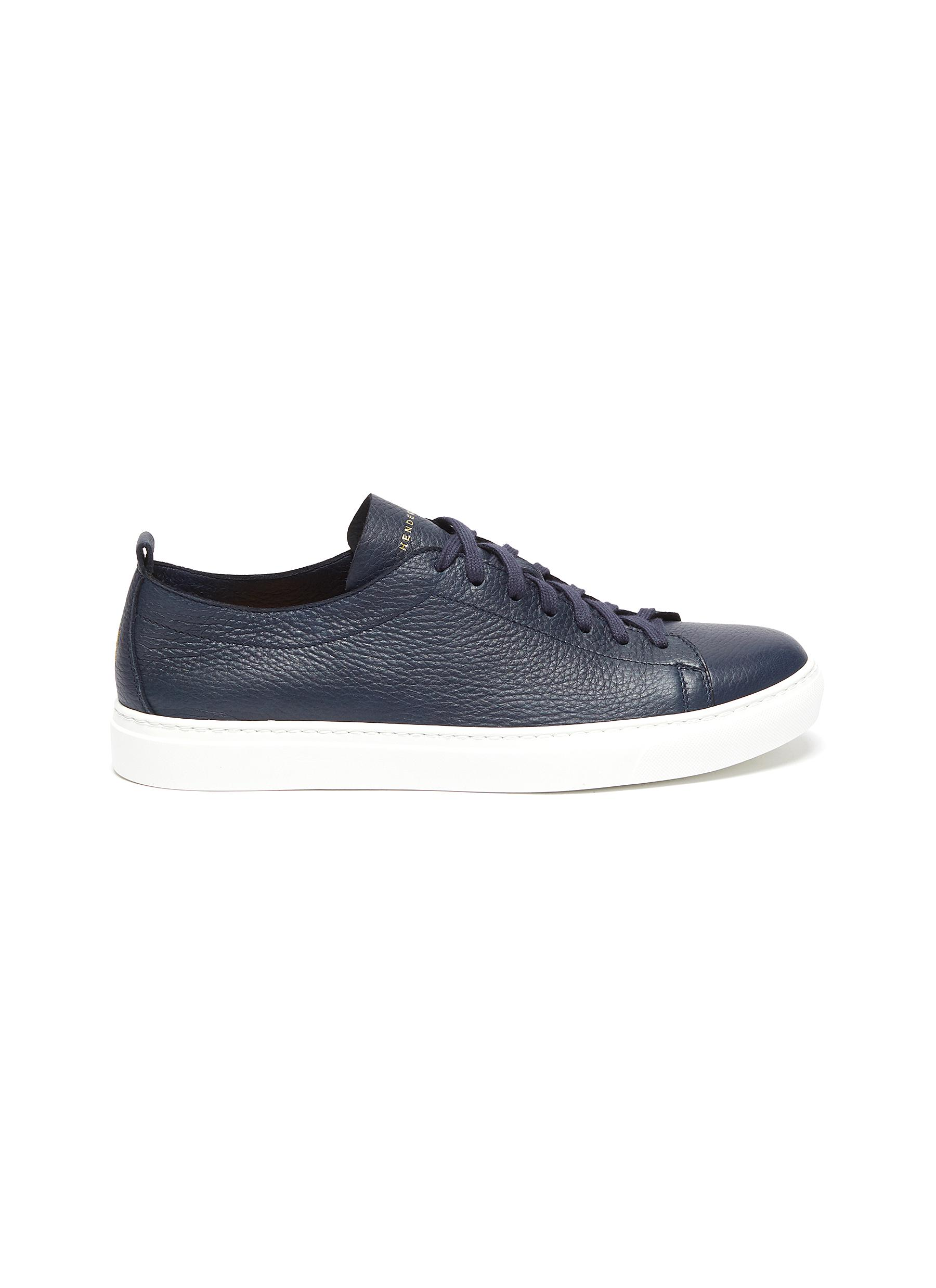 Bryan' grainy leather sneakers