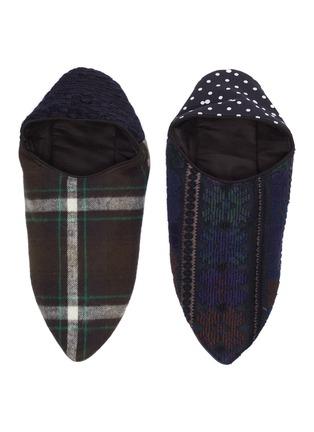 Figure View - Click To Enlarge - SACAI - Zantan' babouche slippers