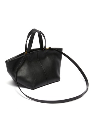 Detail View - Click To Enlarge - MANSUR GAVRIEL - Tulipano' Top Handle Leather Satchel
