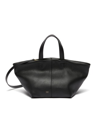 Main View - Click To Enlarge - MANSUR GAVRIEL - Tulipano' Top Handle Leather Satchel