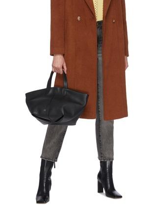 Figure View - Click To Enlarge - MANSUR GAVRIEL - Tulipano' Top Handle Leather Satchel