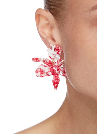 Figure View - Click To Enlarge - LELE SADOUGHI - Small Acetate Lily Earrings