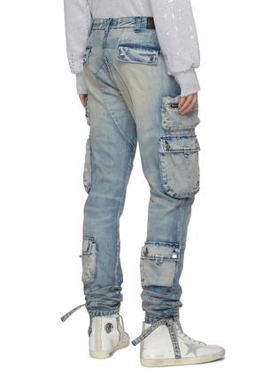 Back View - Click To Enlarge - AMIRI - Drawstring Hem Cargo Jeans