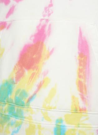 - AMIRI - Tie Dye Patchwork Cotton Hoodie