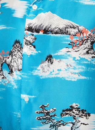 - AMIRI - Faded aloha print shirt