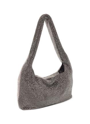 Detail View - Click To Enlarge - KARA - Crystal chain mail shoulder bag
