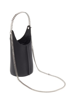 Detail View - Click To Enlarge - KARA - 'Infinity Cooler' chain leather shoulder bag