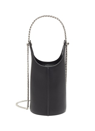 Main View - Click To Enlarge - KARA - 'Infinity Cooler' chain leather shoulder bag