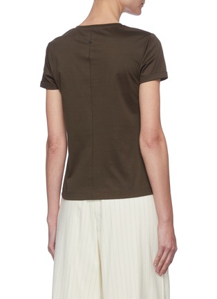 Back View - Click To Enlarge - EQUIL - V-neck T-shirt