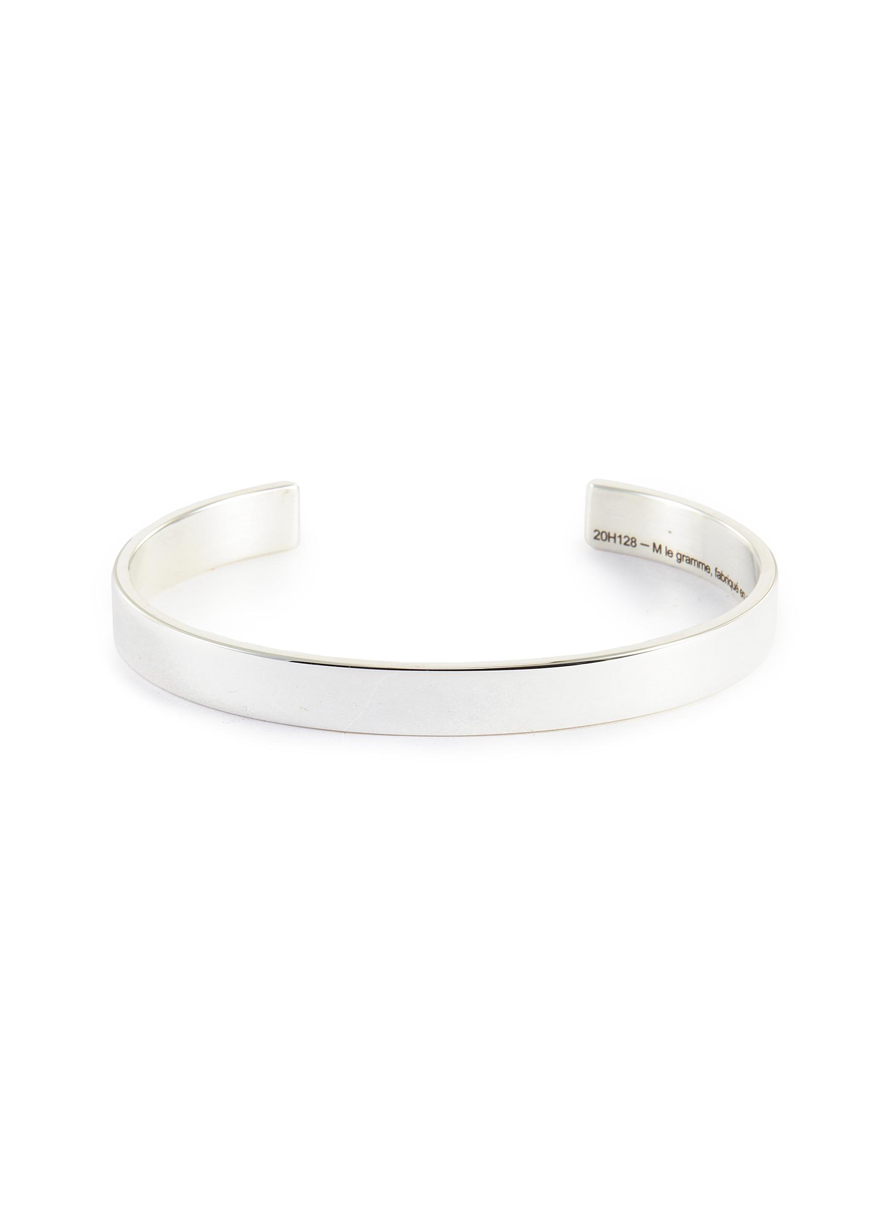 Ribbon' Silver Bangle 21g - LE GRAMME - Modalova