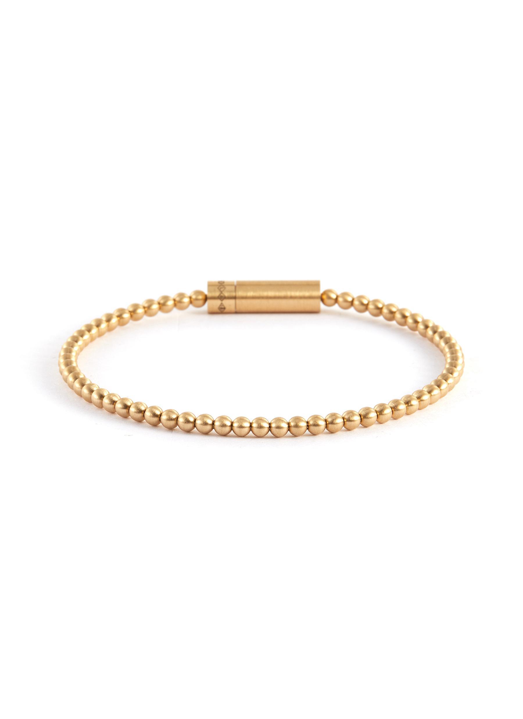 BEADS' Gold Bracelet 15g - LE GRAMME - Modalova