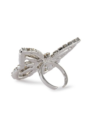 Detail View - Click To Enlarge - JOOMI LIM - Crystal Butterfly Ring