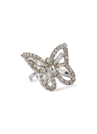 Main View - Click To Enlarge - JOOMI LIM - Crystal Butterfly Ring