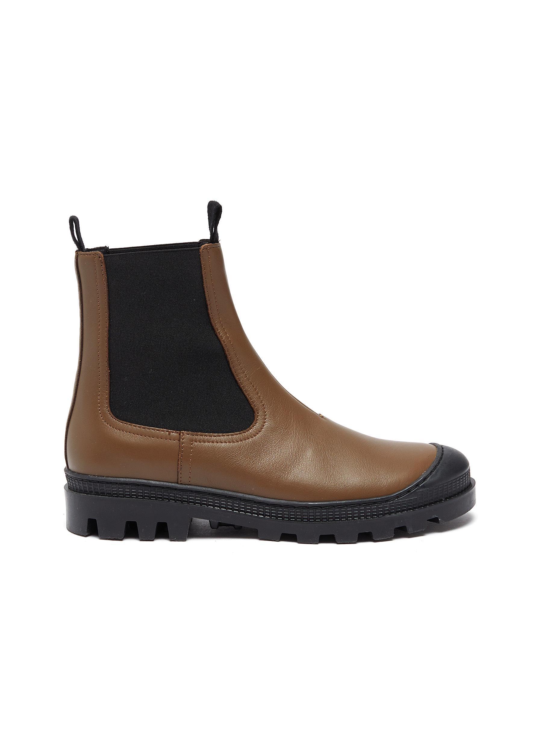 Leather chelsea boots - LOEWE - Modalova
