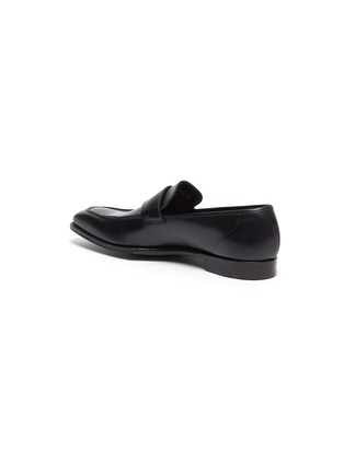 - GEORGE CLEVERLEY - George' Chisel Toe Leather Penny Loafers