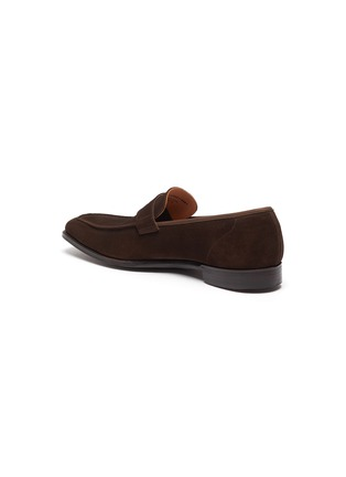 - GEORGE CLEVERLEY - George' Chisel Toe Suede Penny Loafers