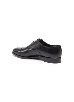 - GEORGE CLEVERLEY - Michael' Chisel Toe Calfskin Leather Oxford Shoes
