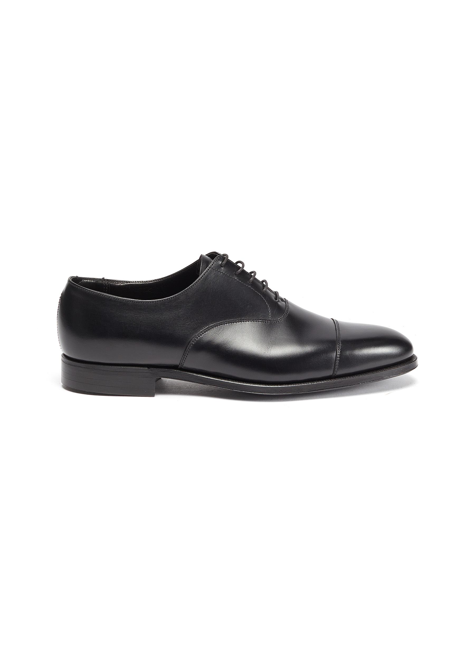 Michael' Chisel Toe Calfskin Leather Oxford Shoes