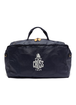 Main View - Click To Enlarge - MARK CROSS - WEATHERBIRD' Logo Canvas Duffle Bag