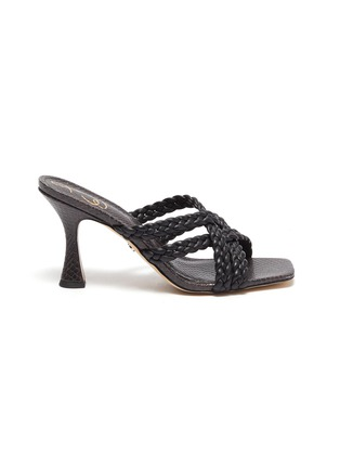 Main View - Click To Enlarge - SAM EDELMAN - Majorie' braided leather mules