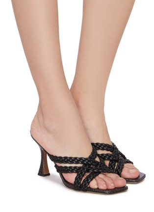 Figure View - Click To Enlarge - SAM EDELMAN - Majorie' braided leather mules