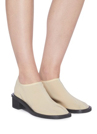 Figure View - Click To Enlarge - OSOI - 'Tobee' mesh slip-on loafers