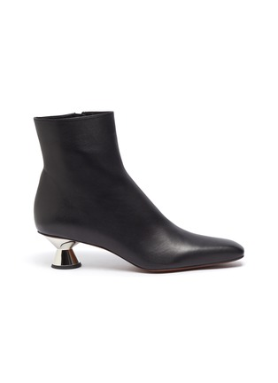 Main View - Click To Enlarge - PROENZA SCHOULER - Vase Heel Almond Toe Ankle Boots
