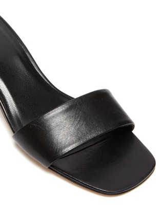 Detail View - Click To Enlarge - BY FAR - 'Freddy' leather sandals