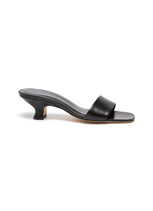 Main View - Click To Enlarge - BY FAR - 'Freddy' leather sandals