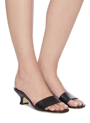 Figure View - Click To Enlarge - BY FAR - 'Freddy' leather sandals