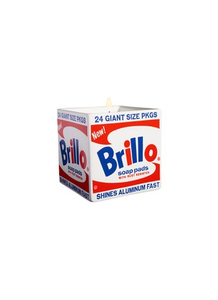 Main View - Click To Enlarge - LIGNE BLANCHE - Andy Warhol 'Brillo Box' square perfumed candle