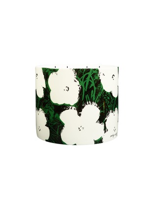 Main View - Click To Enlarge - LIGNE BLANCHE - Andy Warhol Giant Scented Candle – White Flowers