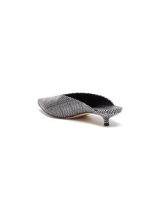 - AEYDE - 'Veruska' snake embossed leather mules