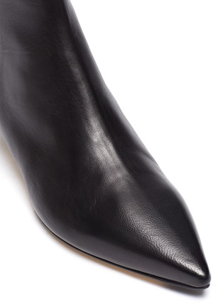 Detail View - Click To Enlarge - AEYDE - 'Ina' leather ankle boots