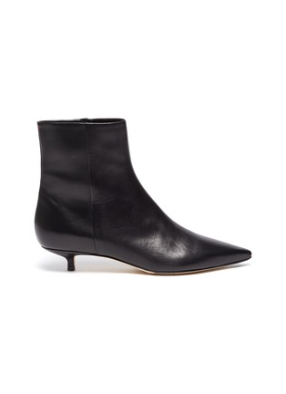 Main View - Click To Enlarge - AEYDE - 'Ina' leather ankle boots