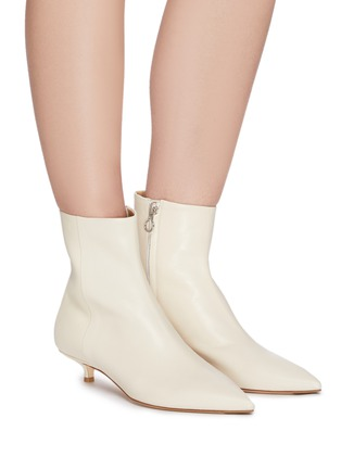 Figure View - Click To Enlarge - AEYDE - 'Ina' leather ankle boots
