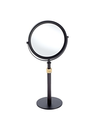 Main View - Click To Enlarge - DECOR WALTHER - Freestanding Cosmetic Mirror – Dark Bronze/Matt Gold