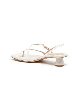 - JACQUEMUS - Les Sandales Basgia' toe ring heeled sandals