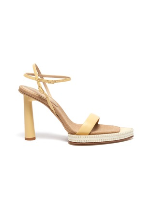 Main View - Click To Enlarge - JACQUEMUS - 'Les Sandales Novio' exaggerated sole leather sandals
