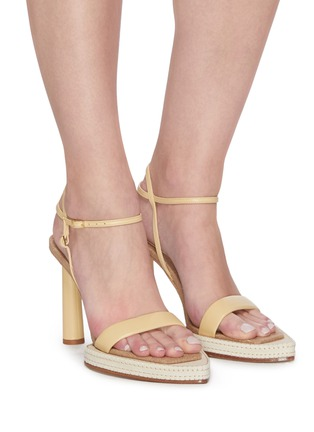Figure View - Click To Enlarge - JACQUEMUS - 'Les Sandales Novio' exaggerated sole leather sandals