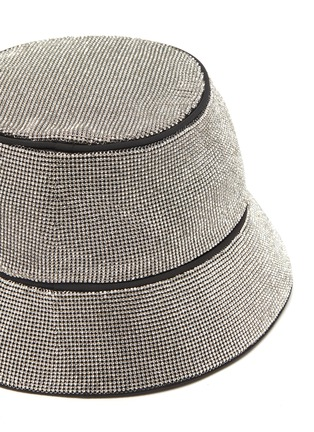 Detail View - Click To Enlarge - KARA - Crystal mesh bucket hat