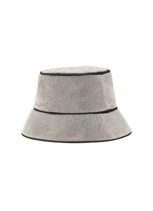 Figure View - Click To Enlarge - KARA - Crystal mesh bucket hat