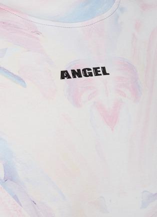 - ANGEL CHEN - x Jiajia Wang Logo Print Abstract Print T-shirt
