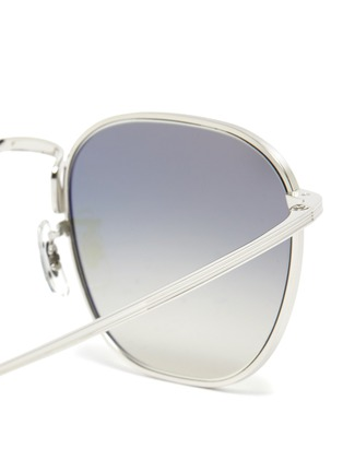 Detail View - Click To Enlarge - OLIVER PEOPLES ACCESSORIES - x The Row ''BOARD MEETING 2' METAL FRAME SUNGLASSES